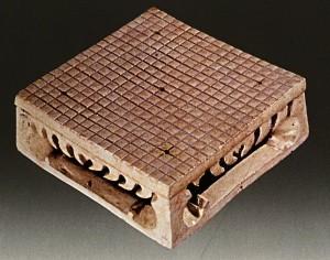 доска Го из керамики 19х19. Династия Суй (581-618)