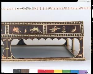 инкрустированные боковые панели гобана