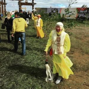 обряд очищения перед входом на Ысыах